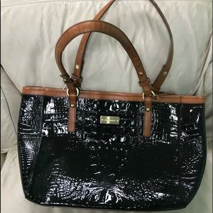 Brahmin patent leather bag EUC
